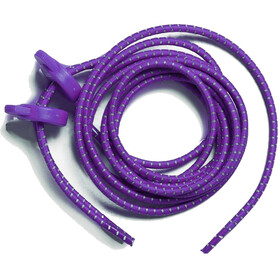 Zone3 Elastic Laces, purple